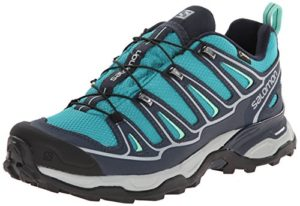 Salomon-X-Ultra-II-GTX-Damen-Trekking-Wanderhalbschuhe-Trkis-Peacock-BlueDeep-BlueLucite-Green-36-EU-35-Damen-UK-0